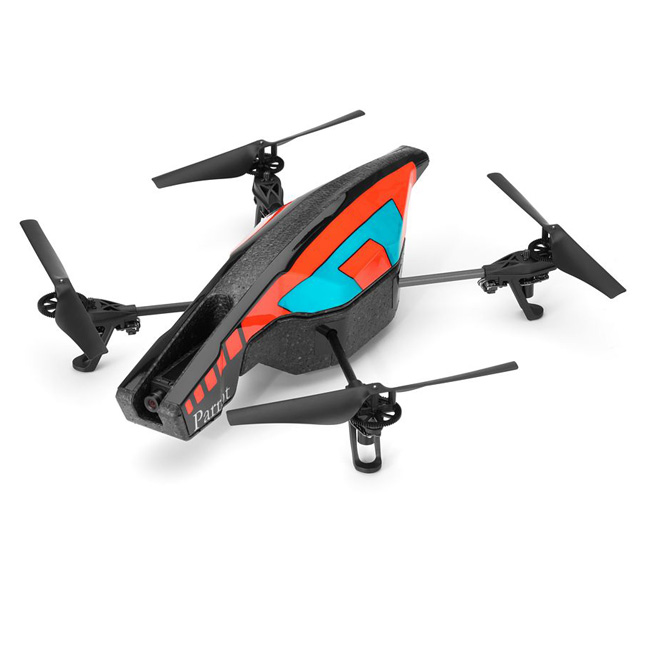 AR.Drone 2.0 – futuristická kvadrokoptéra