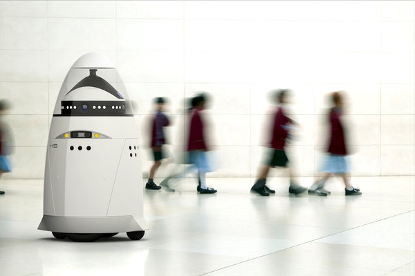 Robotický strážce budoucnosti?